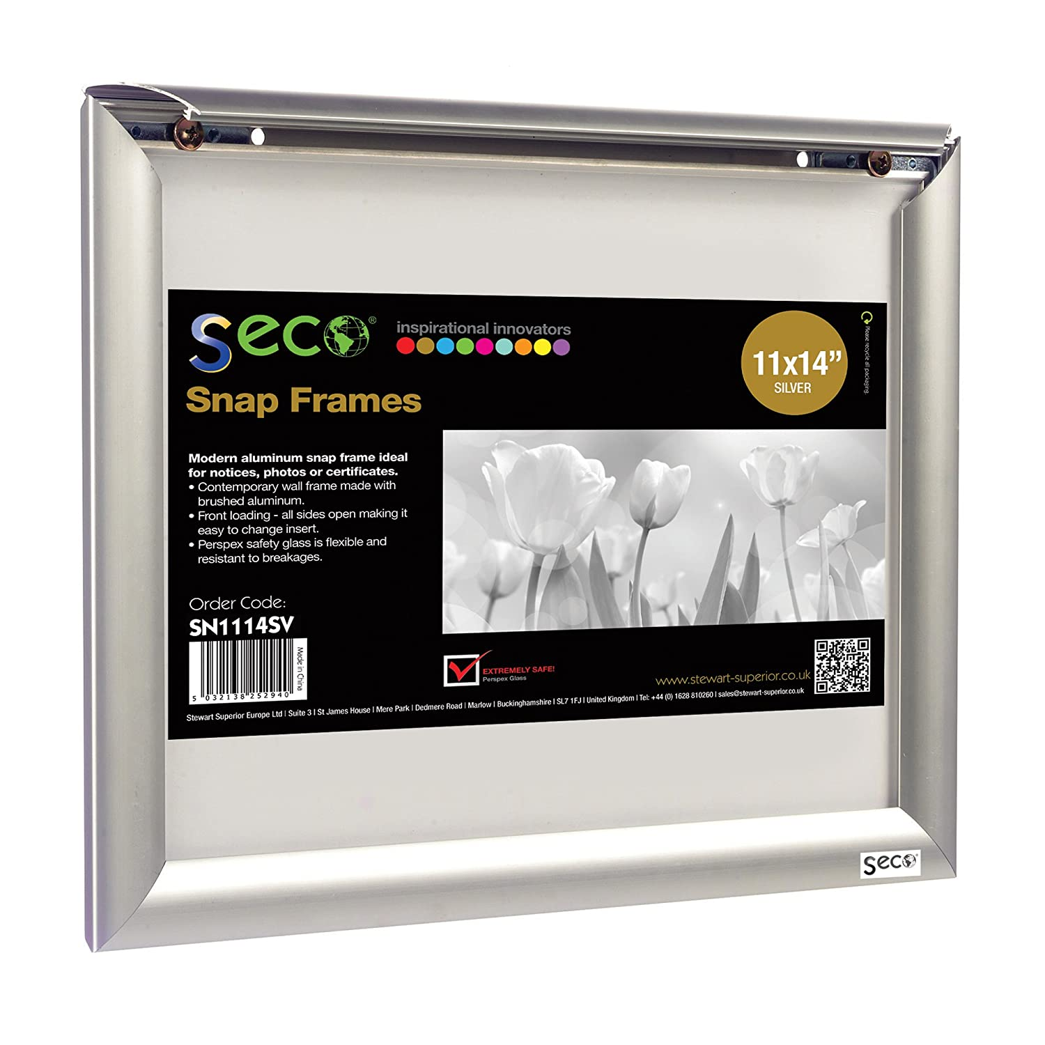 Amazoncom Seco Front Load Easy Open Snap Frame Posterpicture