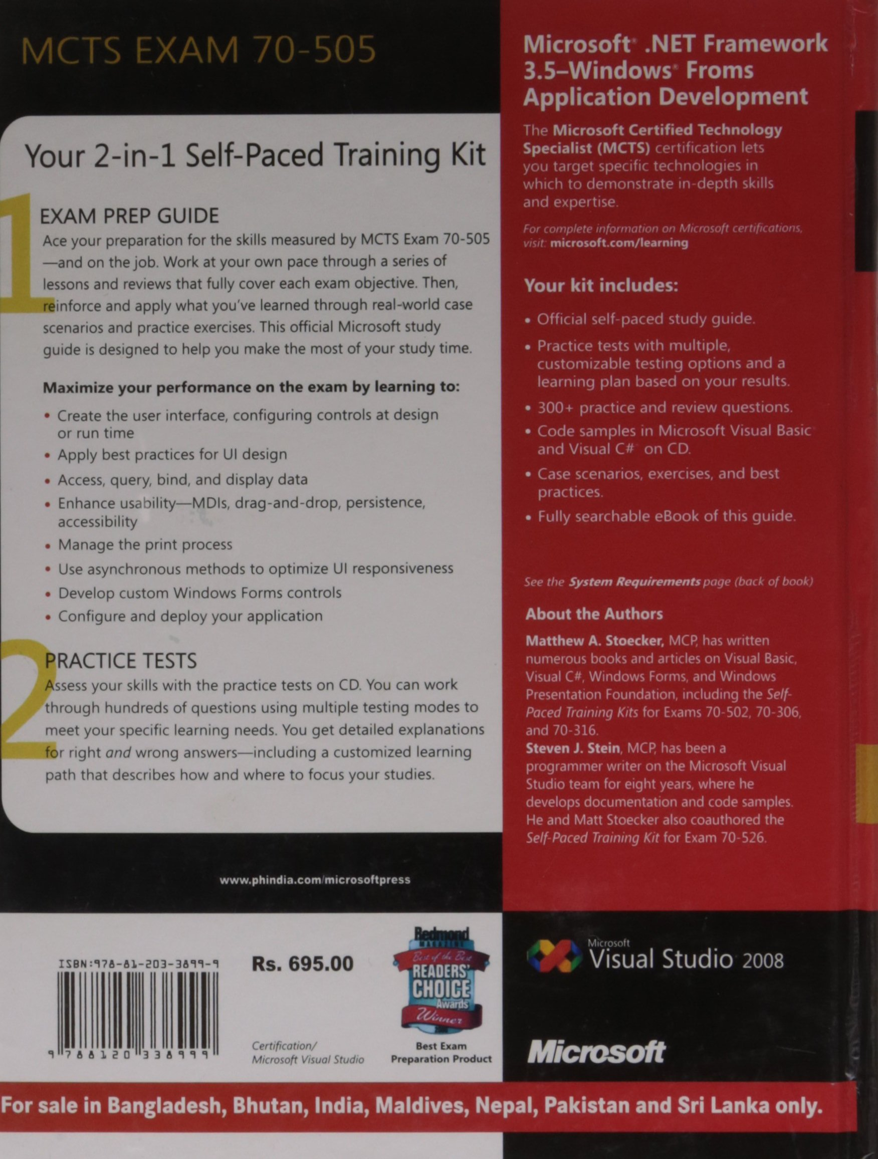 Mcts Self Paced Training Kit Exam 70 505 Microsoft