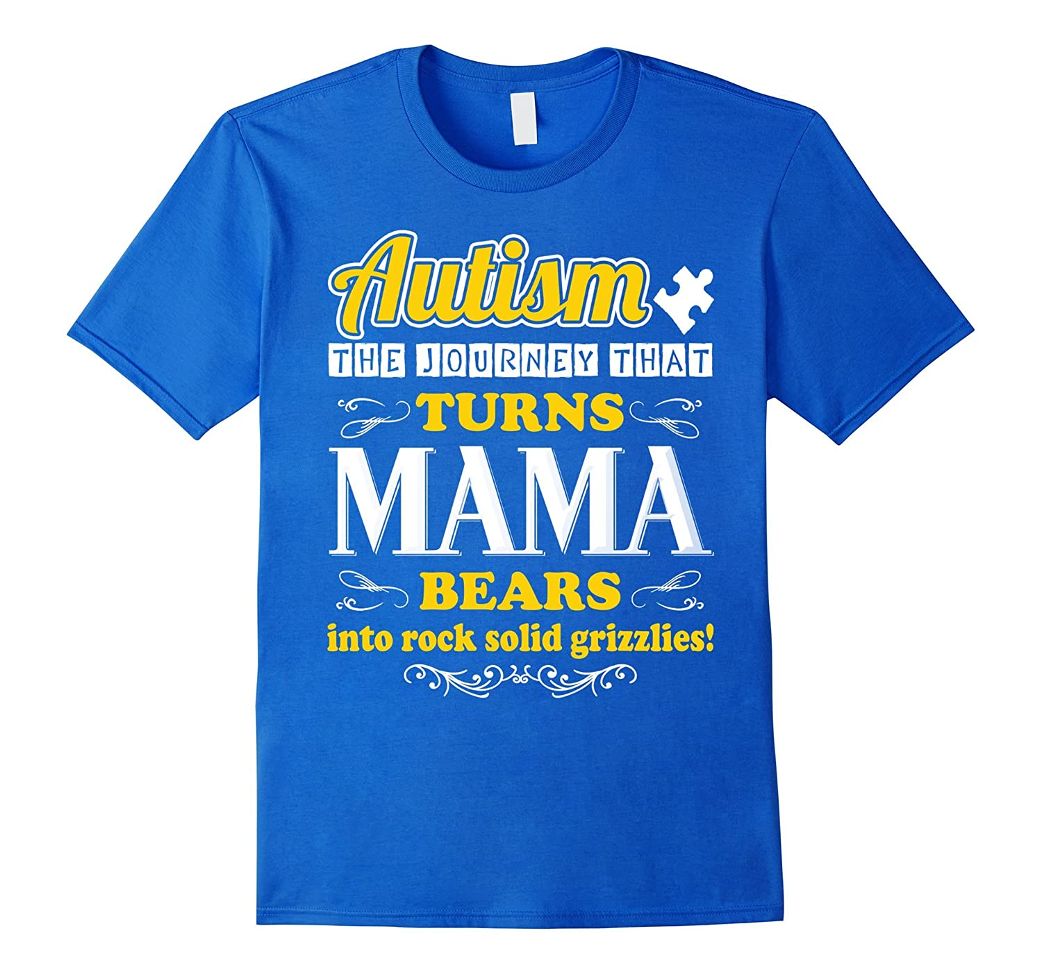 Autism the journey that turns MaMa into rock solid grizzlies-CD
