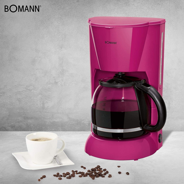Bomann KA 183 - Cafetera eléctrica de goteo automática, máquina ...