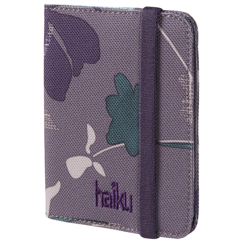 Haiku Women's Trek RFID Eco Passport Case, Flower Fall Print