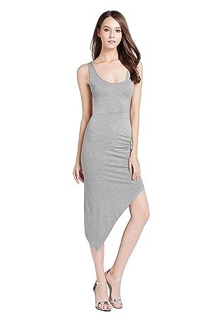 868086d397a SUNNOW® NEU sexy Damen Sommerkleid Partykleid Abendmode Rundhals Ausschnitt  Pakethüfte rückenfrei Nachtklub-Kleid unregelmäßig