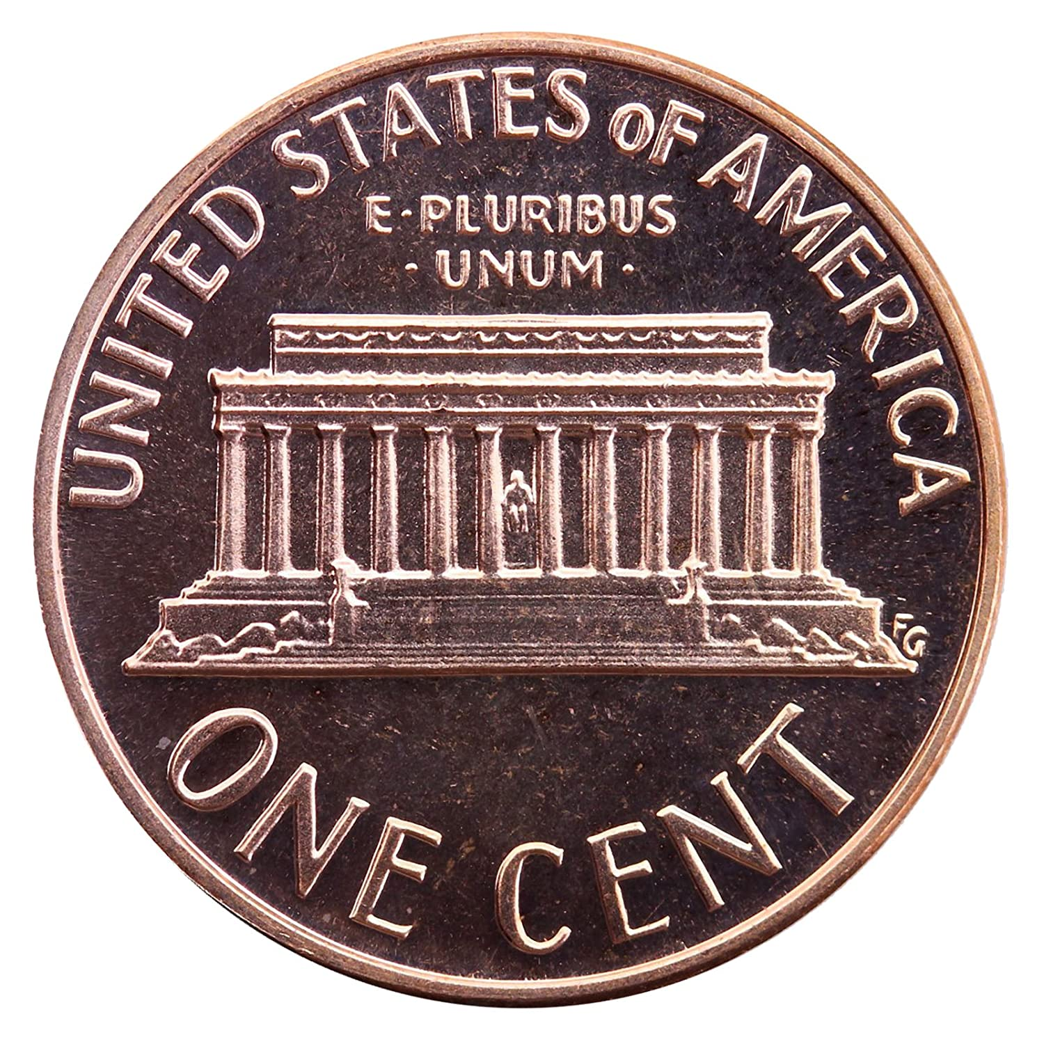 1996 S Gem Proof Lincoln Memorial Cent Penny Proof US Mint
