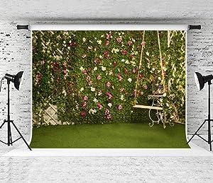 Kate 10x10ft Garden Backdrops for Photography Garden Cornor Background Satisfying Spring Royal Backdrops High Resolution