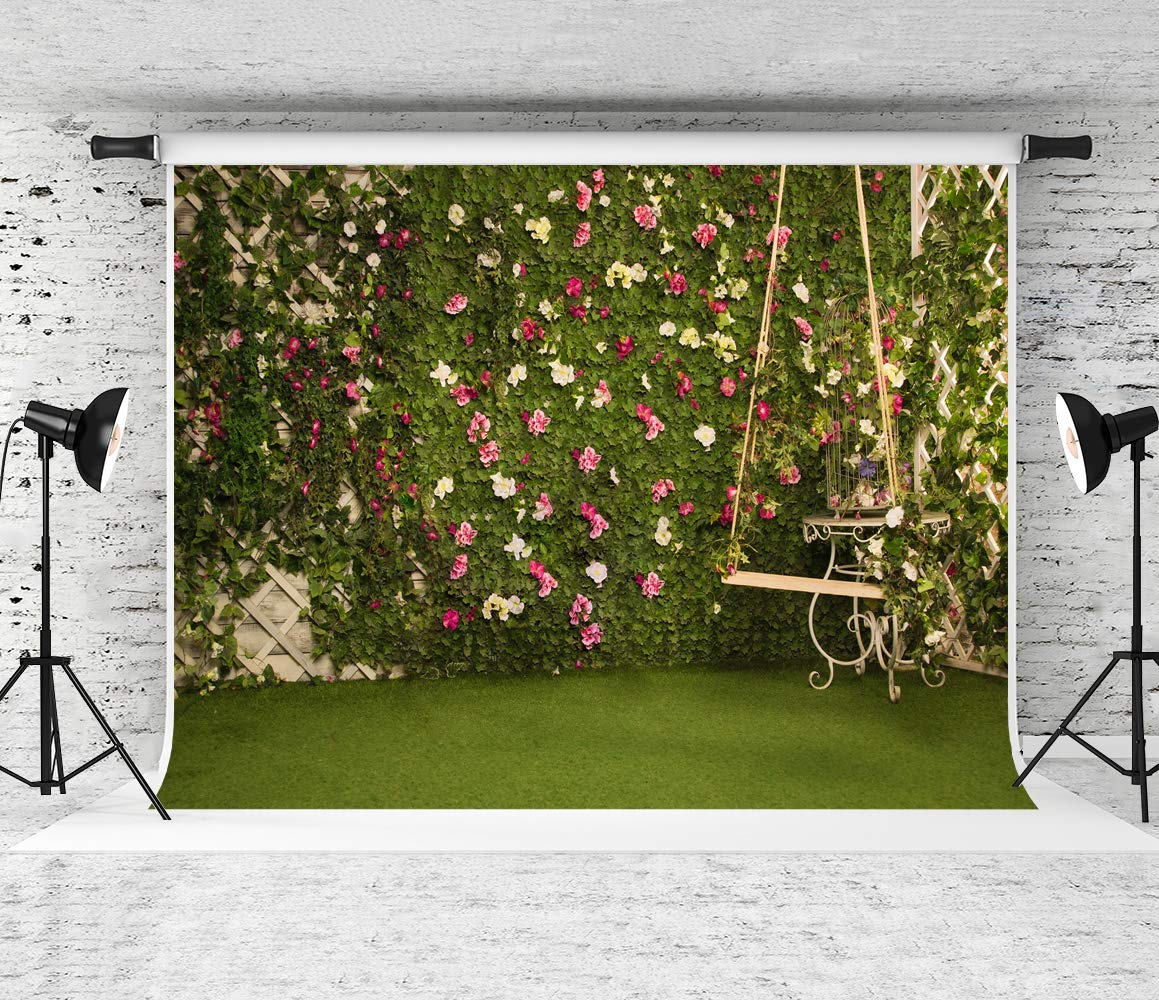 Kate 10x10ft Easter Backdrops for Photography Garden Cornor Background Satisfying Spring Royal Backdrops High Resolution Easter Backgrounds by Kate (Image #1)