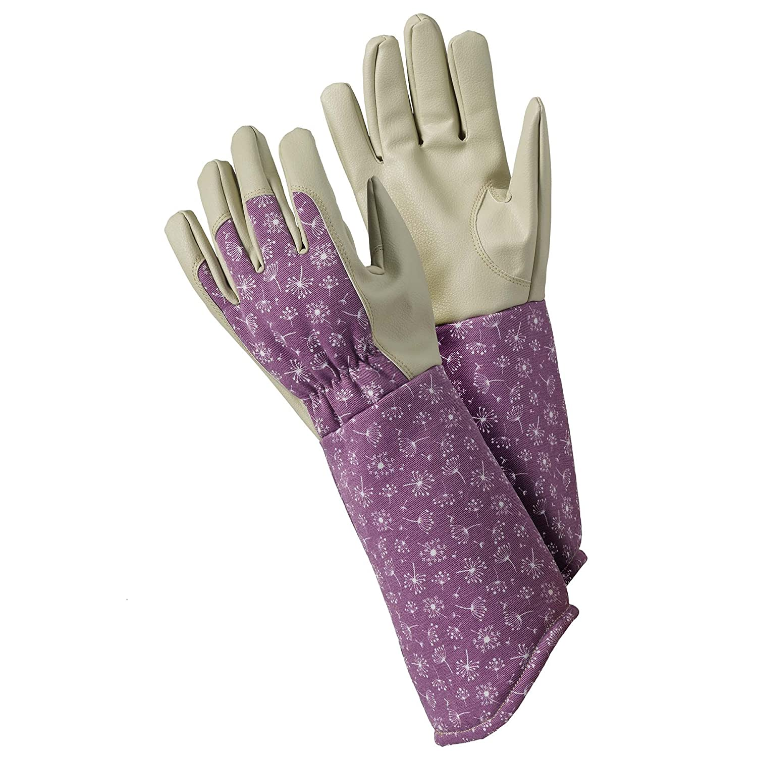 Briers Allium Gauntlet Gloves, Purple, Medium Briers Ltd B8691