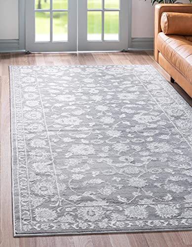 Reviewed: Rugs.com Boston Collection Rug 10' x 14' Gray Low-Pile Rug Perfect