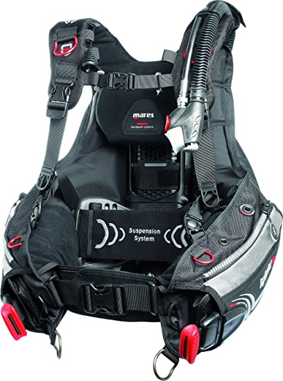 de764cf932b2 Mares Hybrid Weight Integrated Folding Scuba BC for Scuba Divers,  X-Small/Small