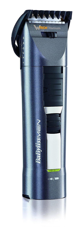 BaByliss PRO 40 E791E - Corta pelos para cabello y barba, Tecnología W-Tech corte 25% más rápido, función turbo, 45 min autonomía, uso con y sin cable: ...