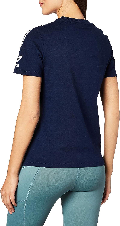 adidas - 3 Stripes Tee, T-Shirts Donna Collegiate Navy
