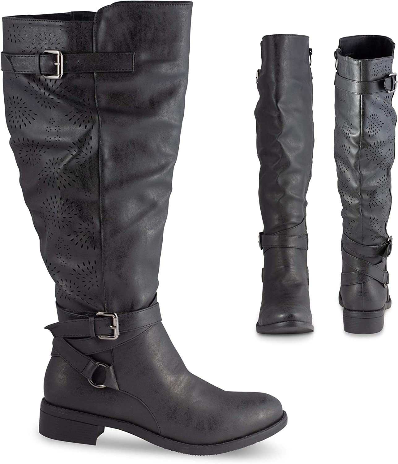 Twisted Chloe Women's Knee High Boots