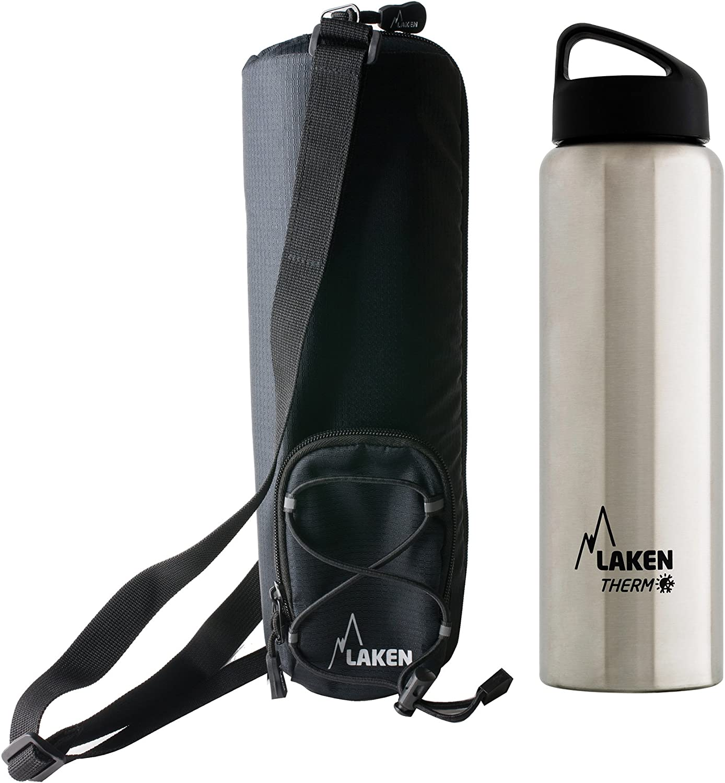 Laken Classic Botella Térmica Acero Inoxidable 18/8 y Doble Pared de Vacío, Unisex adulto