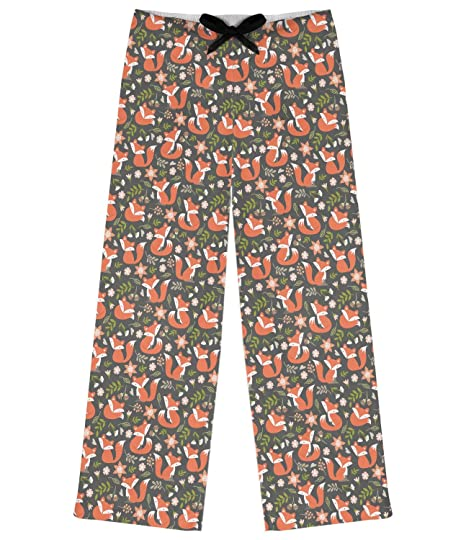 5d74a29adc1 Fox Trail Floral Womens Pajama Pants - XL (Personalized) at Amazon ...