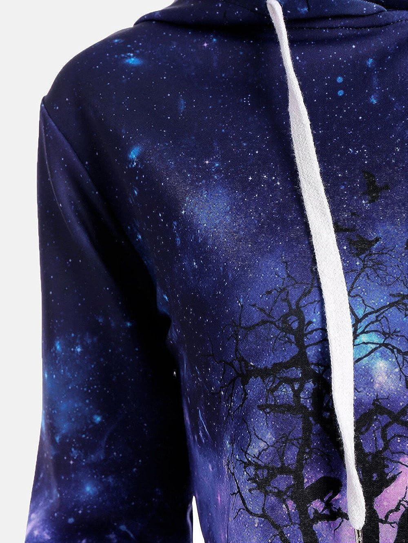❤ Sudadera con Capucha suéter Mujeres, Wolf Digital Printing Halloween Béisbol abriga Sudaderas Absolute: Amazon.es: Ropa y accesorios