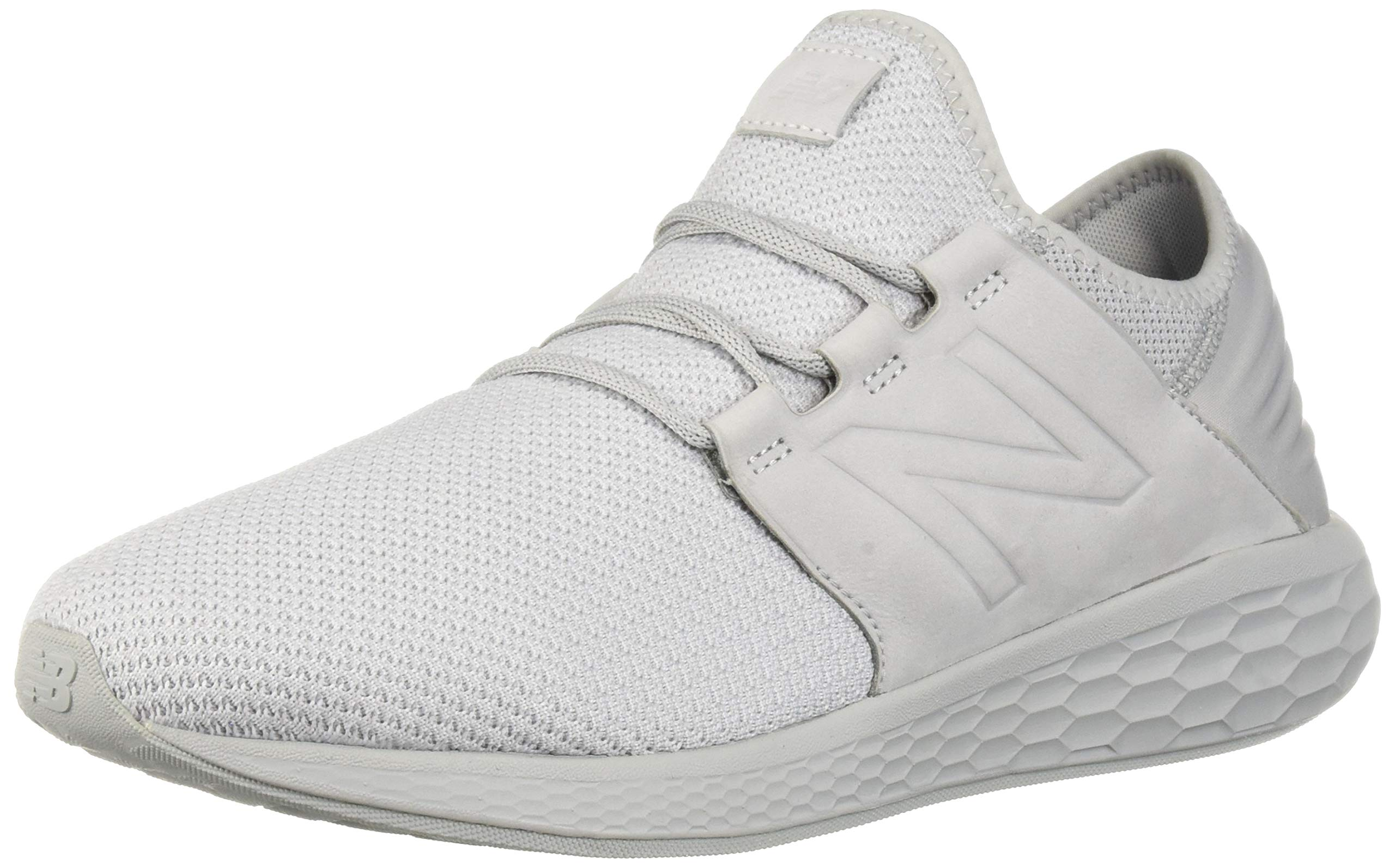 New Balance Men's Cruz V2 Fresh Foam Running Shoe, arctic fox/white/nubuck, 7 D US by New Balance (Image #1)