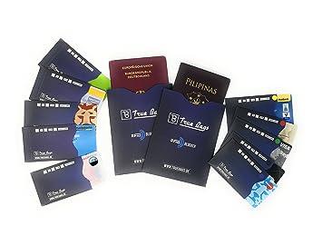 b0e905e136830 RFID Schutzhülle NFC Schutzhüllen (12 Stück) für Kreditkarte ...