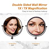 DECLUTTR Wall Mounted Makeup Mirror with 7X