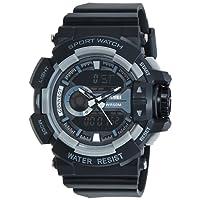 Skmei Analog-Digital Multi-Colour Dial Unisex's Watch-1117BBGREY