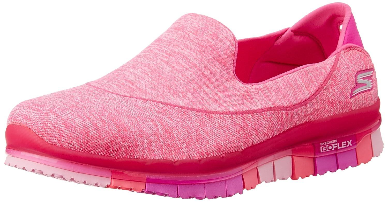 Skechers Damen Slipper Go Flex Walk Pink  39.5 EU|Pink - Rose (Rose Fonc茅)