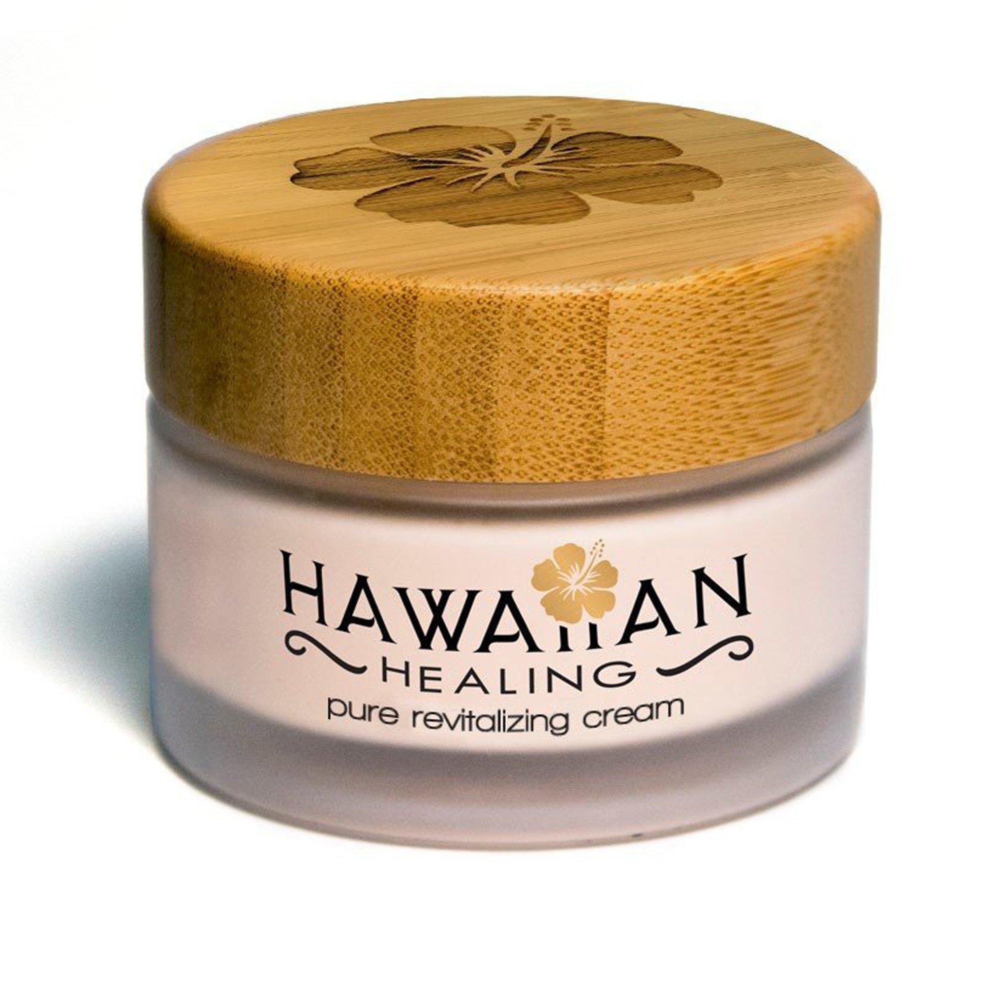 Hawaiian Healing Skin Care Anti-Aging & Hydrating Face Cream with Organic Hawaiian Macadamia Flower Honey and Hawaiian Astaxanthin to Reduce Appearance of Wrinkles & Fine Lines (50g) by Hawaiian Healing