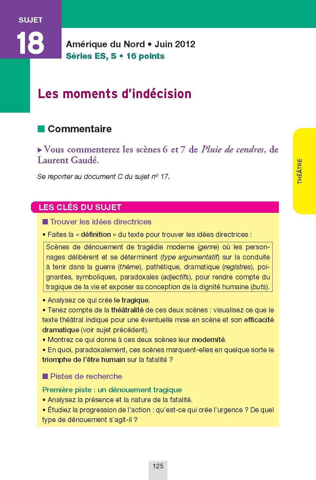Annales Annabac 2014 Français 1re L, ES, S: Sujets et corrigés du bac - Première séries générales: 9782218969393: Amazon.com: Books
