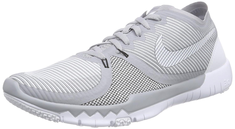 Nike Free Trainer 30 V4 Herren Hallenschuhe  47 EU Grau (Wolf Grey/White-black 010)