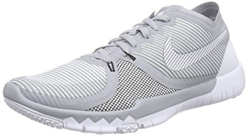 new arrival ccb44 6e298 Nike Mens Free Trainer 3.0 V4 Training Shoes Wolf Grey/Black ...
