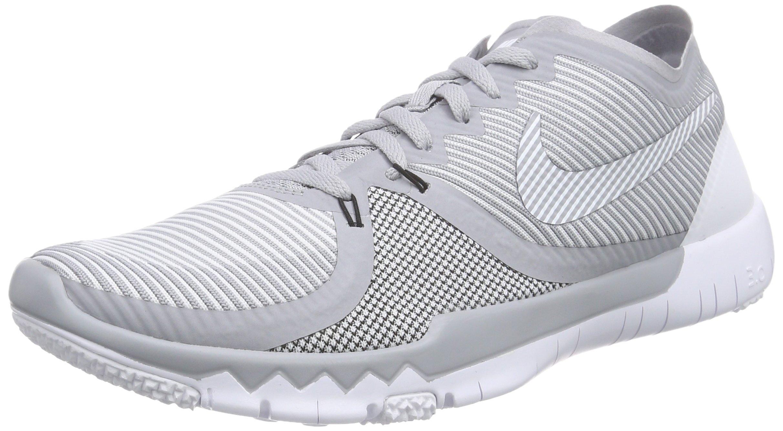 finest selection 1414f ad383 Galleon - NIKE Men s Free Trainer 3.0 V4 Wolf Grey Black White Sneaker 8.5  D - Medium
