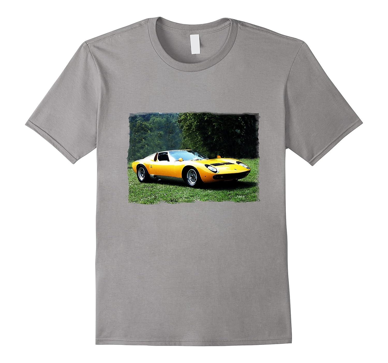 1969 Classic Italian Exotic Sports Car T-Shirt-Art