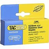 Tacwise 1269 53/8 mm Stainless Steel Staples for Staple Gun (2000)
