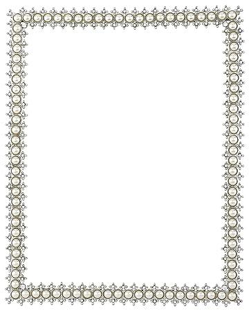 Olivia Riegel Crystal U0026 Pearl 8u0026quot; X 10u0026quot; Frame Amazing Design