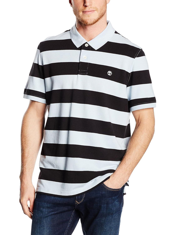 Ss Miller RVR Stripe, Mens Polo Shirt Timberland