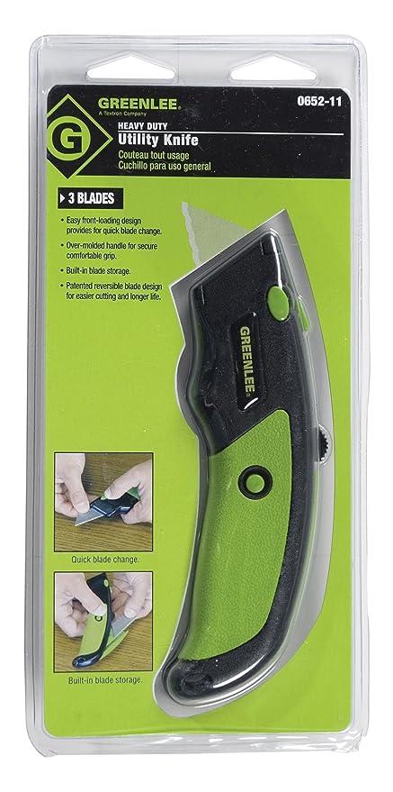 Greenlee - Knife, Utility-Heavy Duty (Pop) (0652-11)