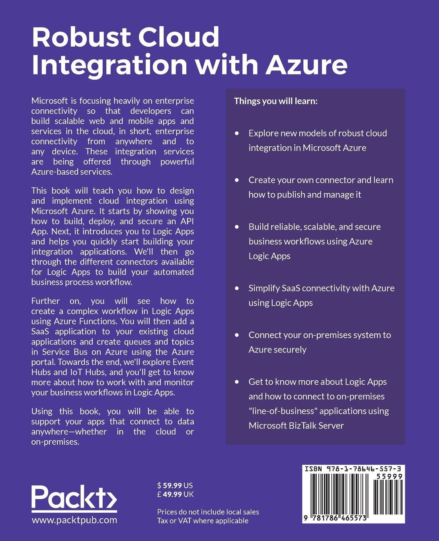 Amazon com: Robust Cloud Integration with Azure
