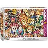 EuroGraphics Venetian Mask 1000-Piece Puzzle