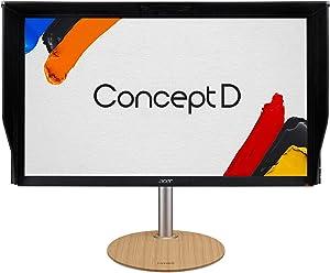 "Acer ConceptD CM3 CM3271K bmiipruzx 27"" UHD 4K 3840 x 2160 IPS Radeon FreeSync Monitor, Pantone Validated, DisplayHDR400, 99% Adobe RGB, Delta E<2 (Display Port, 2 x HDMI, USB Type-C & USB Ports)"