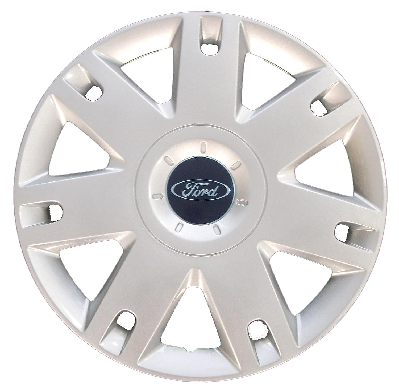 Genuine Ford Parts - Tapacubos para Ford Fiesta (modelos de 2005) o Fusion (modelos de 2002, 15