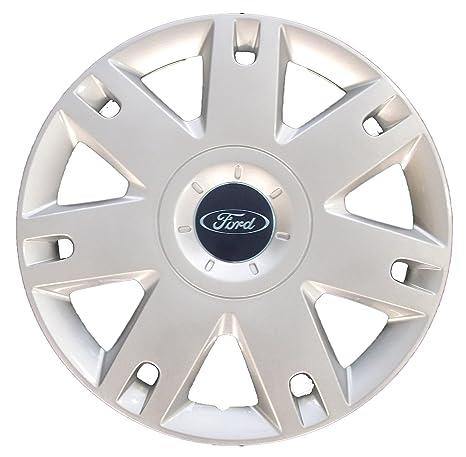 Genuine Ford Parts - Tapacubos para Ford Fiesta (modelos de 2005) o Fusion (