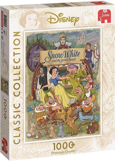 walt disney snow white wooden jigsaw puzzle