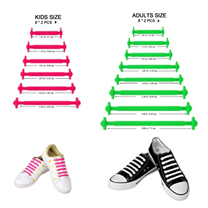 Amazon cambodia shopping on amazon ship to cambodia ship overseas hyfam 5 piece no tie shoelaces for kids and adults water proof elastic silicone tieless ccuart Images