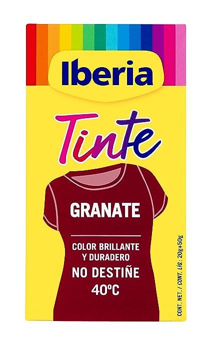 Iberia Tinte Granate para Ropa - 70 gr