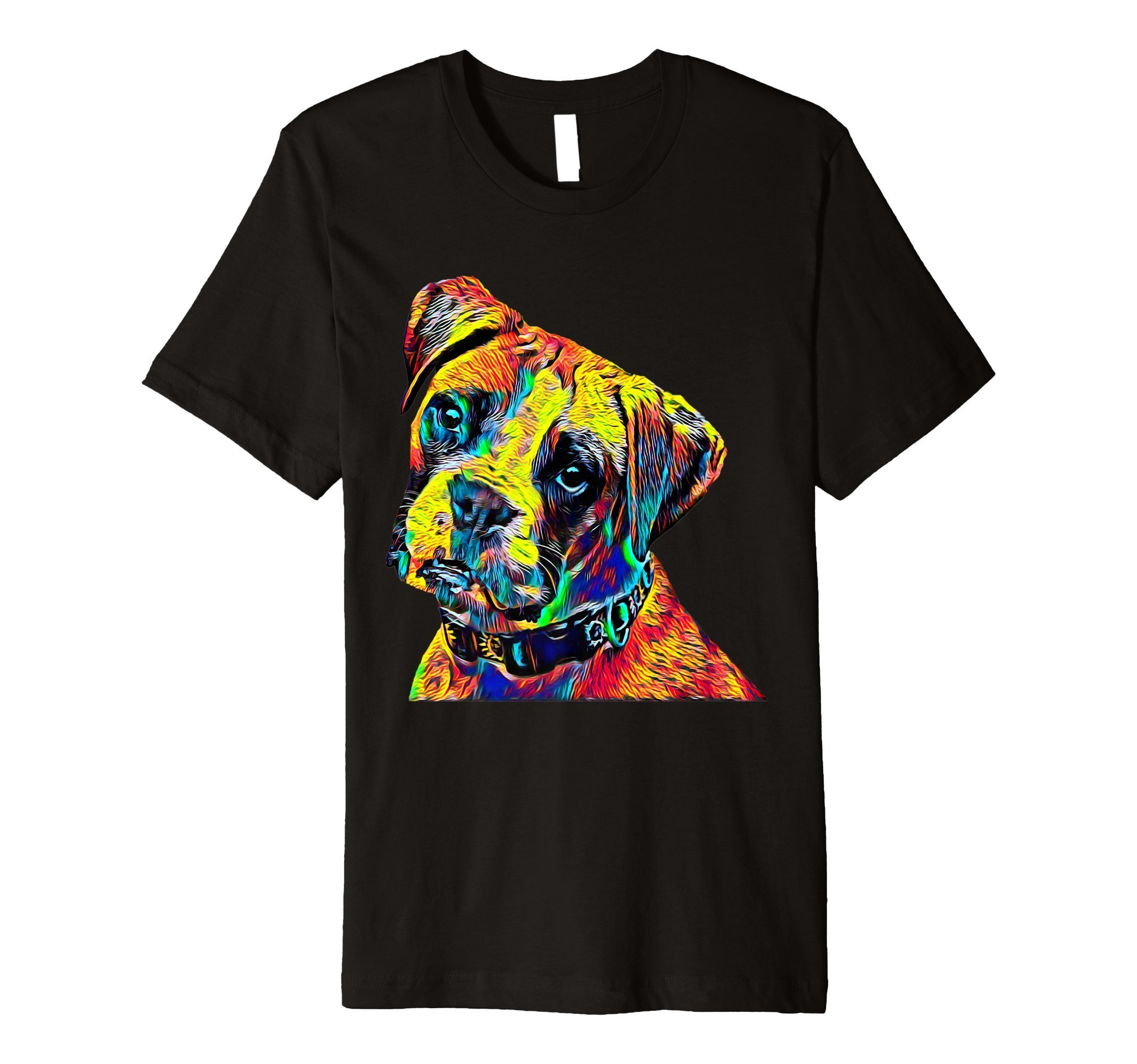 Dog T-Shirt Boxer Breed Cool Vintage Tee For Animal Lovers