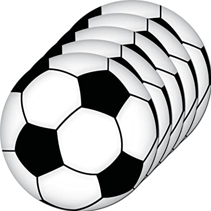 5 unidades 10 cm Pegatina para balones de fútbol Balones de Fútbol ...