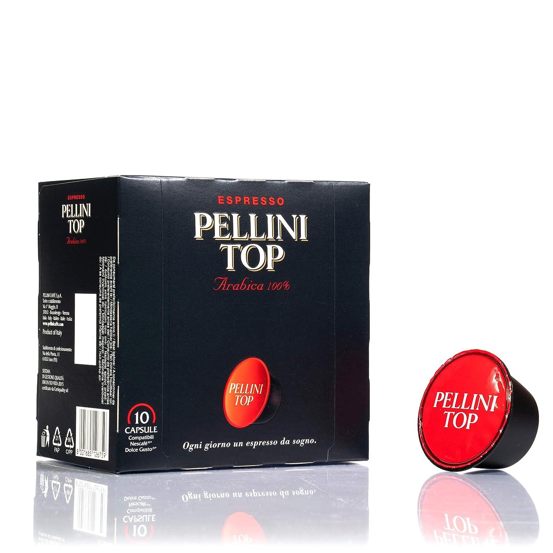 Pellini 329850131 Caffè Top 100% Arábica Dolce Gusto Cápsulas ...