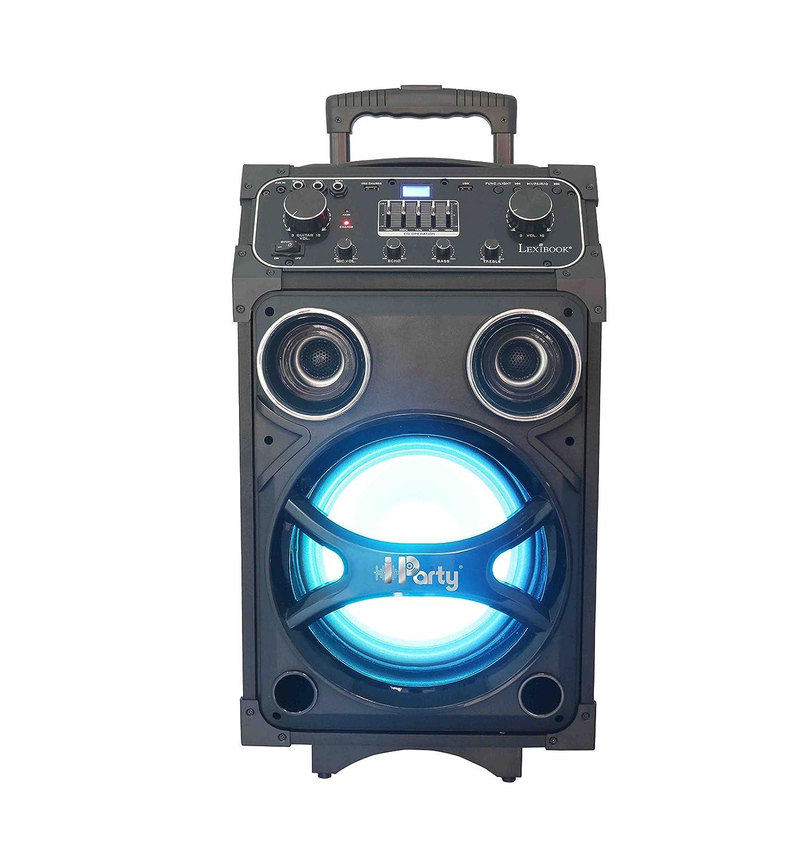 Lexibook K8200–Karaoke-Gerät mit Leuchte, Bluetooth-Betrieb