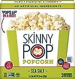 Skinny Pop Microwave Popcorn Bowl, Sea Salt, 8.4 Ounce