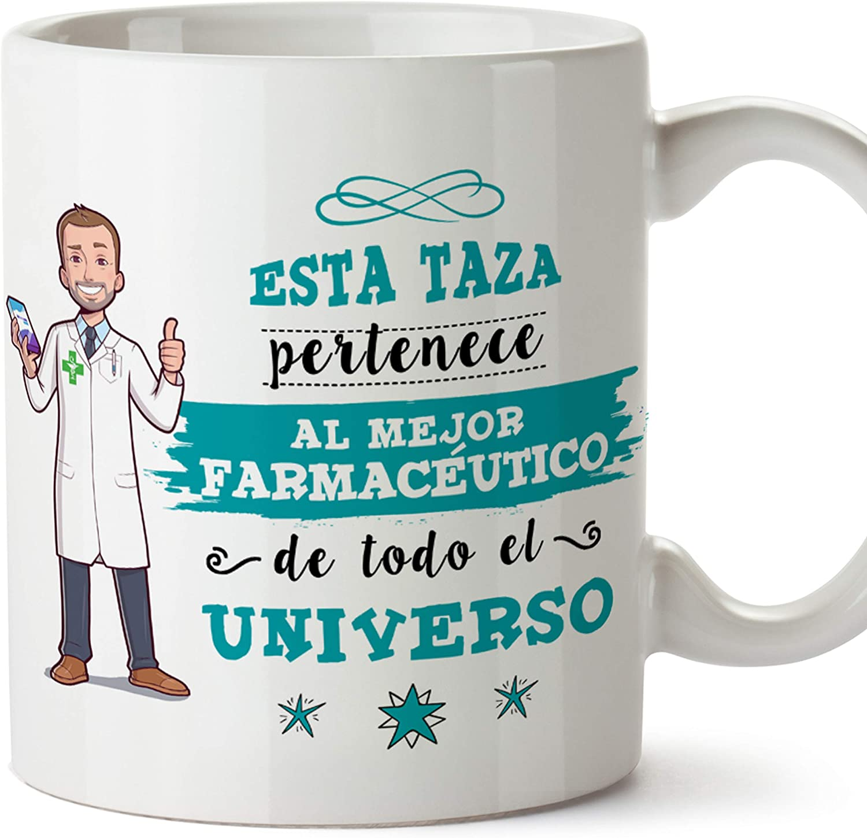 regalo de farmacia regalo para estudiantes de farmacia regalo futuro farmac/éutico Taza para farmac/éutico regalo para farmacia taza de cer/ámica de 12 onzas farmac/éutico no puede fijar est/úpido