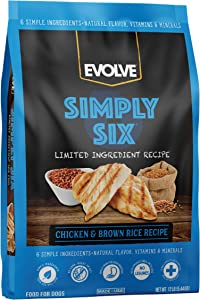 Evolve Simply Six Limited Ingredient Dog Food Diets