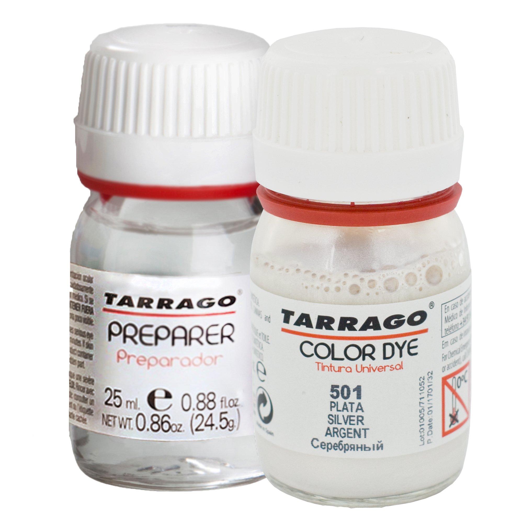 Tarrago Self Shine Color Dye and Preparer 25Ml. Silver #501