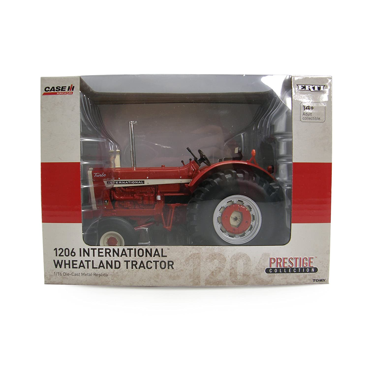 Amazon.com: Ertl Collectibles International 1206 Wheatland Tractor: Toys & Games